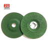 "4"" Angle Grinder Polishing Wheel, 1/4"" Thickness, 5/8"" Depressed Hole, Aluminum Oxide, A24"