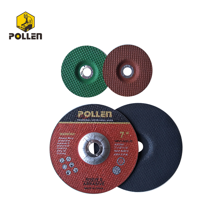 7Inx1/8In Depressed Center Abrasive Wheels, C30S Cement Stone Cutting And Grinding