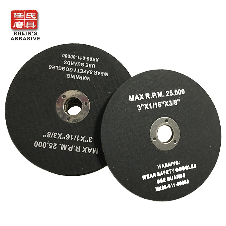 "Type 41, 3""x1/16""x3/8"" Mini Angle Grinder Wheel"